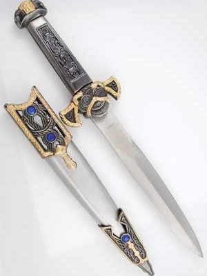 "14"" Two Tone athame"