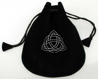 Triquetra-Velvet-Bag