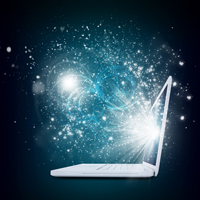 bigstock-Open-laptop-with-magic-light-a-68039293