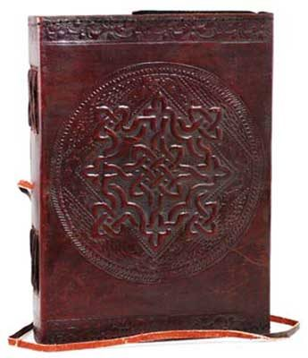 Embossed Leather Celtic Knot
