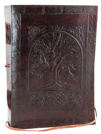 Embossed Leather Tree of Life